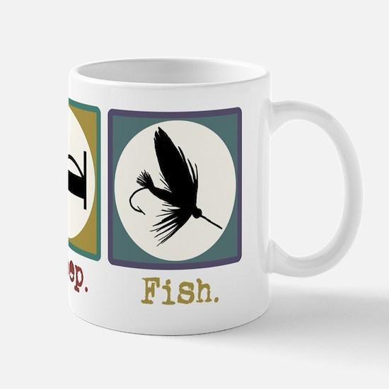 Eat Sleep Fly Fish Mug