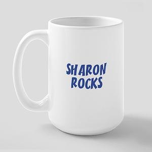 SHARON ROCKS Large Mug