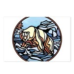Tribal Bear Art Postcards (Package of 8)