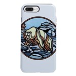 Tribal Bear Art iPhone 8/7 Plus Tough Case