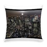 New York Empire State Souvenir Everyday Pillow