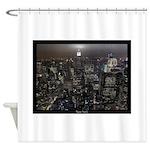 New York Empire State Souvenir Shower Curtain