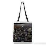 New York Empire State Souvenir Polyester Tote Bag