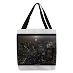 New York Empire State Souvenir Polyester Tote Bag
