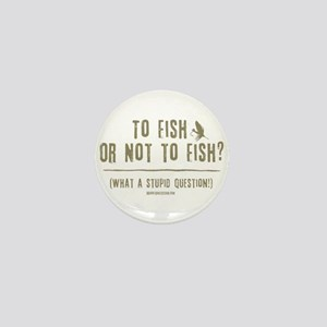 To Fly Fish Mini Button