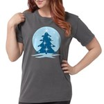 Blue Christmas Tree Womens Comfort Colors® Shirt