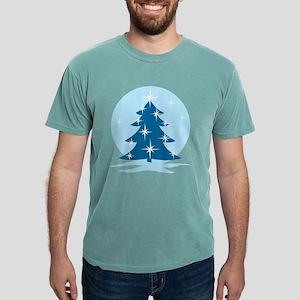 Blue Christmas Tree Mens Comfort Colors® Shirt