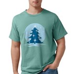 Blue Christmas Tree Mens Comfort Colors® Shirt