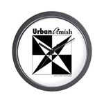 Urban Amish Wall Clock