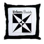 Urban Amish Throw Pillow