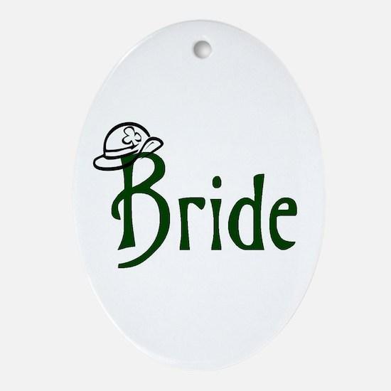 Bride's Oval Ornament
