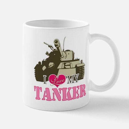 i love my tanker Mugs