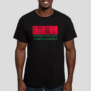 vaffanculo Men's Fitted T-Shirt (dark)