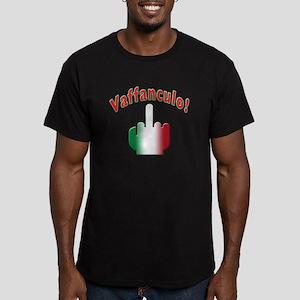 Italian vaffanculo Men's Fitted T-Shirt (dark)