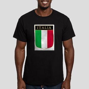 Italia Men's Fitted T-Shirt (dark)