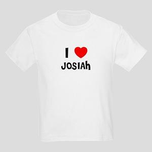 I LOVE JOSIAH Kids T-Shirt