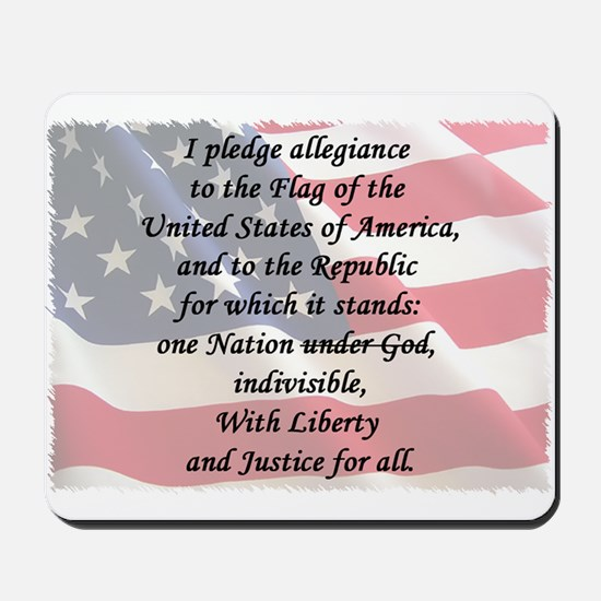 The Pledge Mousepad