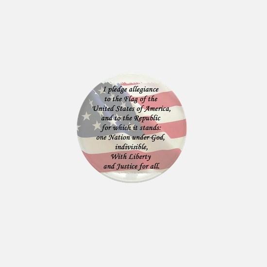 The Pledge Mini Button