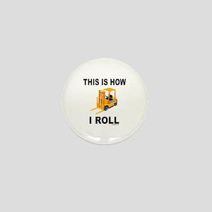 FORKLIFT OPERATOR Mini Button