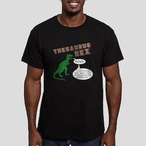 Thesaurus Rex Men's Fitted T-Shirt (dark)