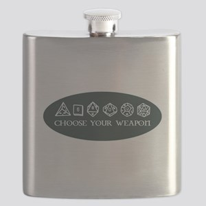 Retro gaming - choose your weapon Flask
