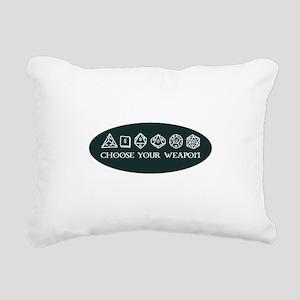 Retro gaming - choose yo Rectangular Canvas Pillow