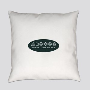 Retro gaming - choose your weapon Everyday Pillow