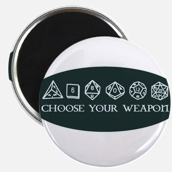 Retro gaming - choose your weapon Magnets