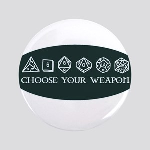 Retro gaming - choose your weapon Button