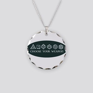 Retro gaming - choose your w Necklace Circle Charm