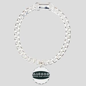 Retro gaming - choose yo Charm Bracelet, One Charm