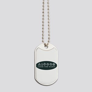 Retro gaming - choose your weapon Dog Tags
