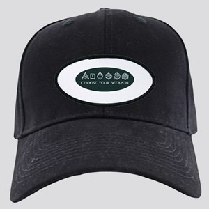 Retro gaming - choose your we Black Cap with Patch