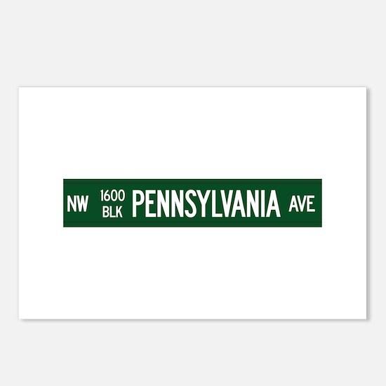 1600 Pennsylvania Avenue, Washington DC, USA Postc