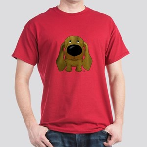 Big Nose Dachshund Dark T-Shirt