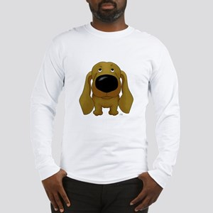 Big Nose/Butt Dachshund Long Sleeve T-Shirt