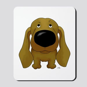 Big Nose Dachshund Mousepad