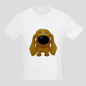 Big Nose/Butt Dachshund Kids Light T-Shirt
