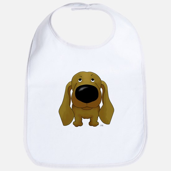 Big Nose Dachshund Bib