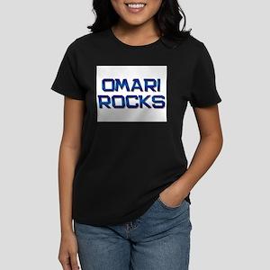 omari rocks Women's Dark T-Shirt