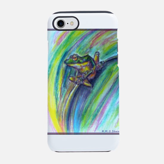 Tree frog! Wildlife art! iPhone 7 Tough Case