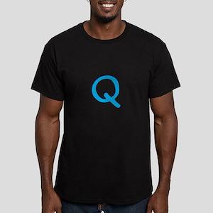 Q Men's Fitted T-Shirt (dark)