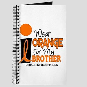 I Wear Orange For My Brother 9 Leukemia Journal