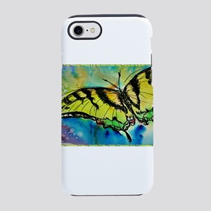 Butterfly! Swallowtail butterfly, art! iPhone 7 To
