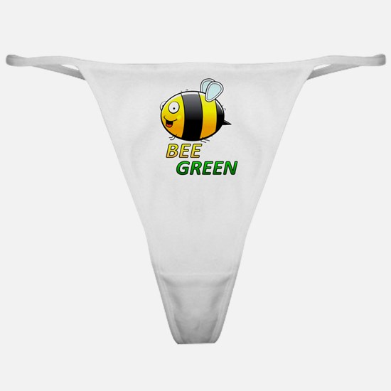 Bee Green Classic Thong