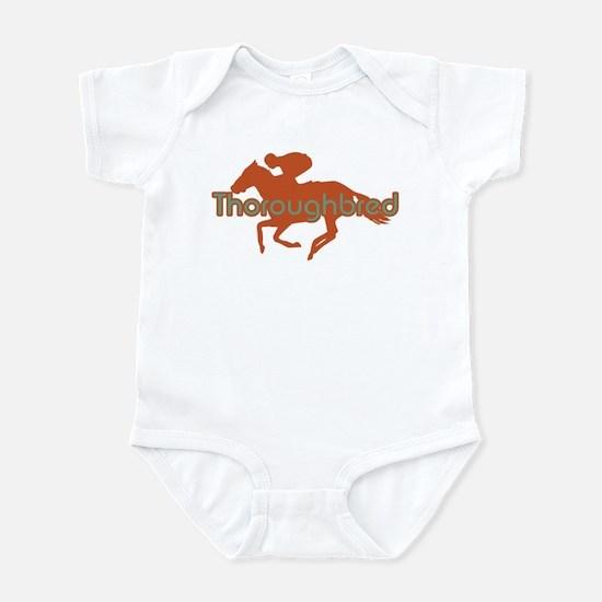 Thoroughbred Horse Infant Bodysuit