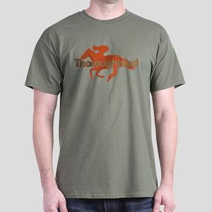 Thoroughbred Horse Dark T-Shirt