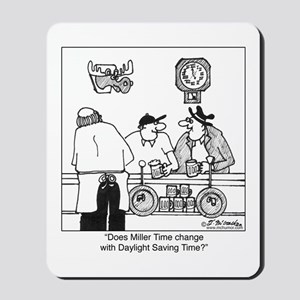 Miller Time & DST Mousepad