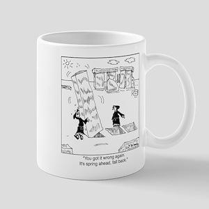 Springing Forward at Stonehenge Mug