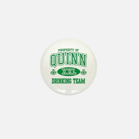 Quinn Irish Drinking Team Mini Button